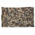Abbott Collection Rock Doormat w/Mixed Stones