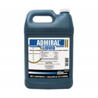 Admiral Lake and Pond Colorant Controls Algae and Aquatic Weeds-1 Gallon 55555443