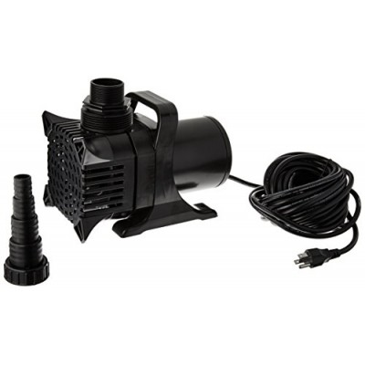 Algreen MaxFlo 16000 to 4000 GPH Pond and Waterfall Pump for Gardening
