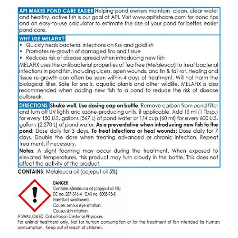 API POND MELAFIX Pond Fish Bacterial Infection Remedy 64