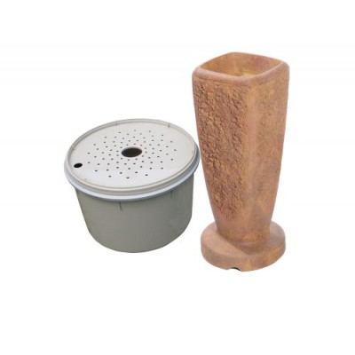 AquaScape 78062 Powdered Ripple Fountain Kit, Terra Cotta