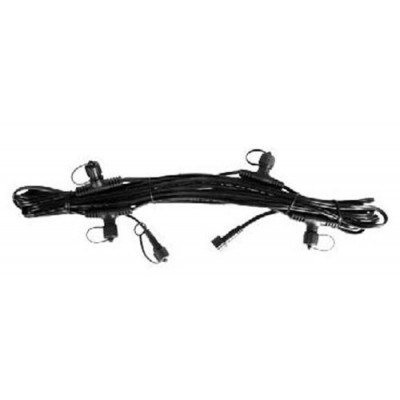Aquascape 84023 Lighting Cables with Quick-Connects, 25-Feet, Black