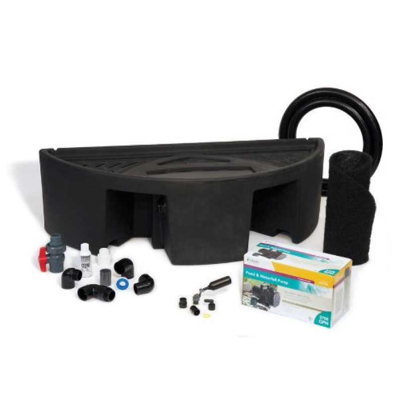 Atlantic Water Gardens Basin Kit With Pump For Formal