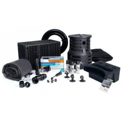 Atlantic Water Gardens Pond-Free Professional Waterfall Kit - 3700 GPH Pump