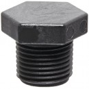 "Banjo PLUG075 Polypropylene Pipe Fitting, Plug, Schedule 80, 3/4"" NPT Male"