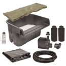 Beckett Corporation Waterfall Kit With Pump, Overflow Stone and Liner
