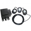 Beckett TR3LT10 10-Watt 3 Light Kit with Transformer, Submersible
