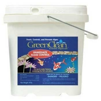 Bio Safe Systems ABSHG11050 Green Clean Granular Pond Conditioners for Aquarium, 50-Pound