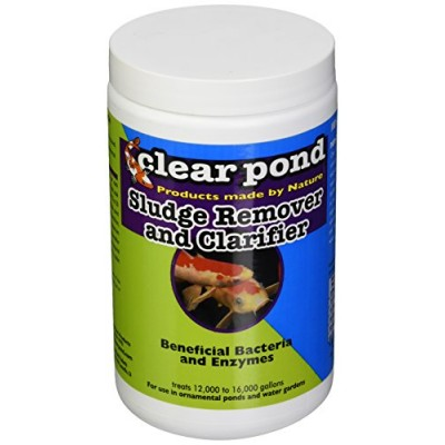 Clear Pond Dry Sludge Remover and Clarifier Jar, 2-Pound