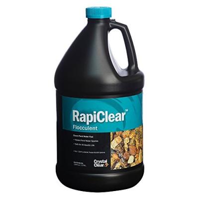 CrystalClear CC063-1G Rapiclear Pond Flocculent, 1-Gallon