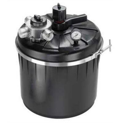 Danner 05025 PUV-2000 Pressurized Filter with UV Light for 2000-Gallons Ponds