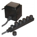 EasyPro MT60 60-Watt Transformer with 6 Outlets