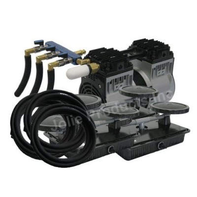 EasyPro PA66W Rocking Piston Pond Aeration System 1/2 HP Kit with Quick Sink Tubing