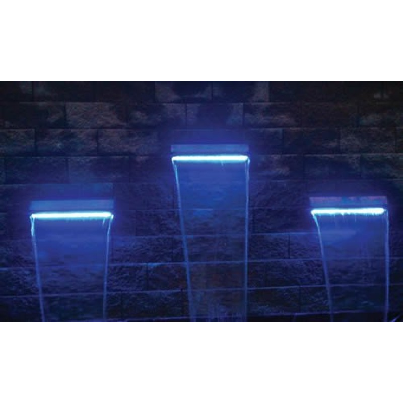 led waterfall effect light strips best waterfall. Black Bedroom Furniture Sets. Home Design Ideas