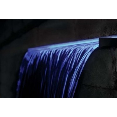 "EasyPro Pond Products Underwater LED Light Strip Waterfall Spillway Light, 35"", Cool Blue"