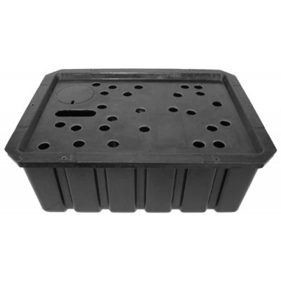 EasyPro RBH21B Rectangle Redi-Basin for Statues/Bubbling Rocks/Fountains, 21 by 28-Inch