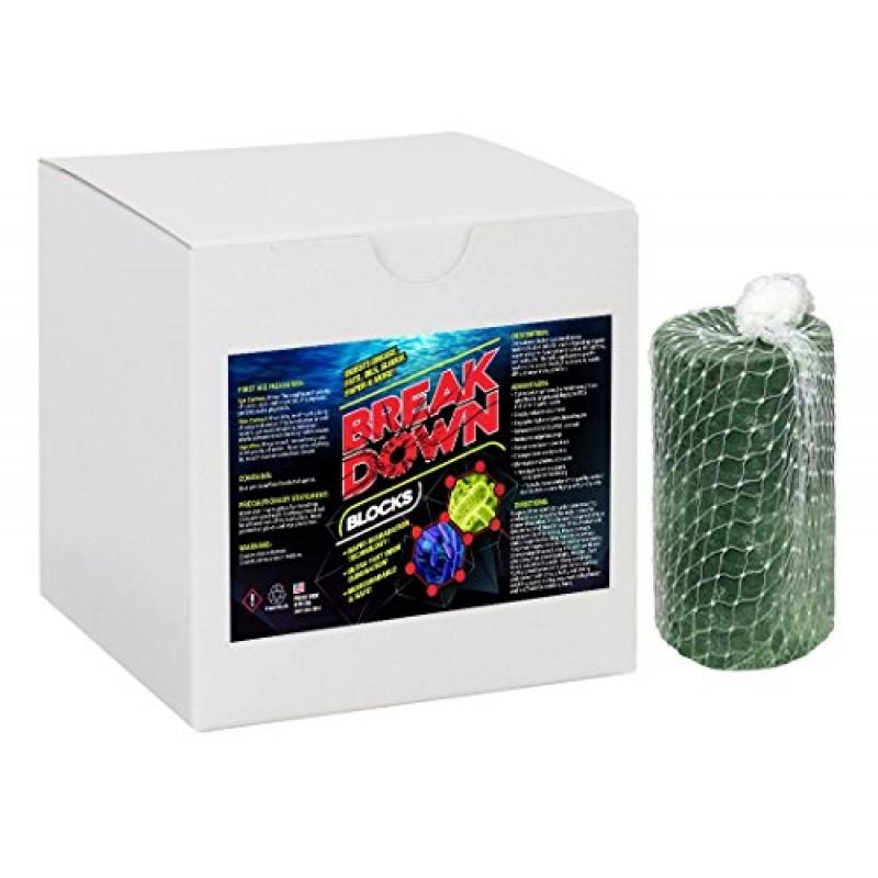 Breakdown Bio Block Bacterial Enzyme Digestant For Grease