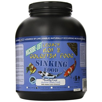 Ecological Labs MLLSPLG Microbe Lift Sinking Pellets Koi & Goldfish Food, 5-Pounds 12-Ounces