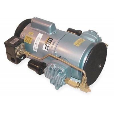 Gast - 6LCF-246S-M616NEX - 8-1/3 x 16-3/4 x 12-1/3 115/230VAC Piston Air Compressor