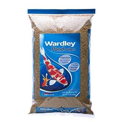 HARTZ Wardley Pond Floating Fish Food Pellets - 10 Pound Bag
