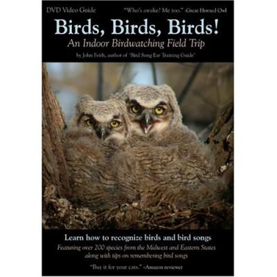 Birds, Birds, Birds! An Indoor Birdwatching Field Trip DVD Video Bird and Bird Song Guide