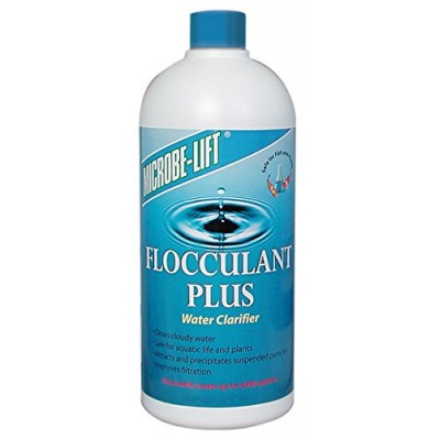 Microbe Lift 16-Ounce Pond Flocculant Plus FPLUS16