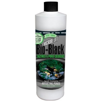 Microbe Lift 16-Ounce Pond Microbe-Lift Bio-Black BIOBLK16