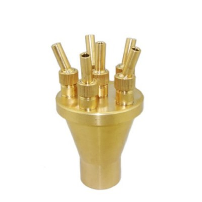 "NAVA New High Quality Fountain Nozzle 2 Tier Center Straight Style 1.5"" DN40 Garden Pond"