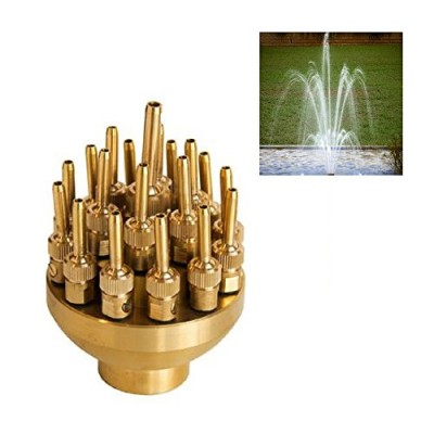 "NAVA New High Quality 2"" DN50 Brass 3 Layers Fountain Nozzle Sprinklers Spray Head Pond"