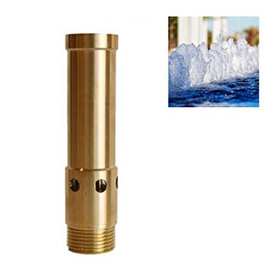 "NAVADEAL 2"" DN50 Brass Bubbling Foam Water Fountain Nozzle Spray Pond Sprinkler - For Garden Pond, Amusement Park, Museum, Library"