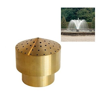 "NAVADEAL 3/4"" DN20 Brass Cluster Water Fountain Nozzle Spray Pond Sprinkler - For Garden Pond, Amusement Park, Museum, Library"