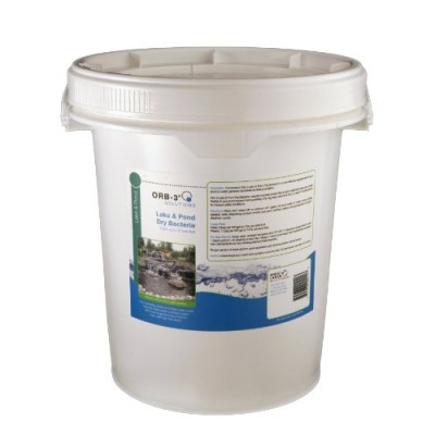 Orb-3 Lake & Pond Dry Bacteria (USA, Bulk, 10-Pound Pail)