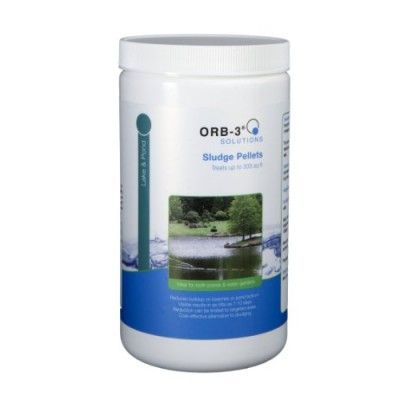 Orb-3 Sludge Pellets Canister for Ponds, 1-Pound