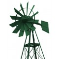 Outdoor Water Solutions PCW0233 20-Feet Forest Green Powder Coated Windmill