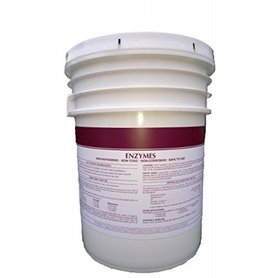 Patriot Chemical Sales 10 Pounds Enzymes Powdered Grease Trap Odor Control Bacterial Crystals Industrial Strength