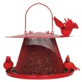 No/No Red Cardinal Bird Feeder  C00322