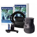 Savio PF1000 13' Ft Free Waterfall Package-PF1000 Pond Kit, Black
