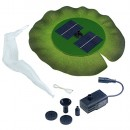 Smart Solar 24402R01 Aquatic Range Floating Lily Solar Fountain Powered By An Included Solar Panel That Operates An Integral Low Voltage Pump With ...