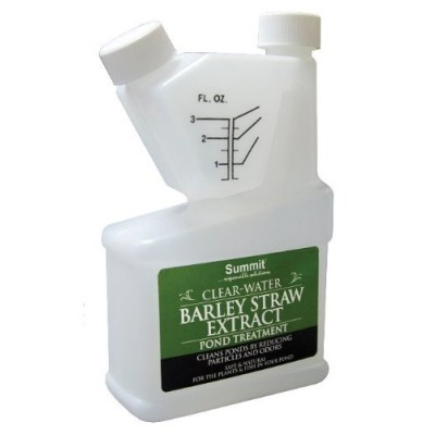 Summit 136 Clear-Water Barley Straw Extract Pond Treatment, 16-Ounce