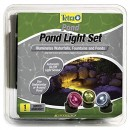 TetraPond Triple-Light Set for Under Water/Around of Pond, Multi-Color