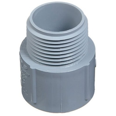 "Thomas & Betts E943F 1"" SCH 40 MALE ADAPTER (Pack of 50)"