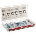 Tekz 45348 Hose Clamp Assortment - 34 Piece