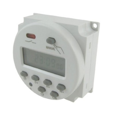 Uxcell a12031200ux0078 Power Programmable Timer Time Switch Relay