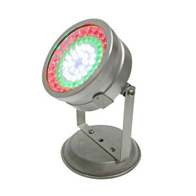 72 RGB LED Outdoor Submersible Pond Landscape Light W/Controller